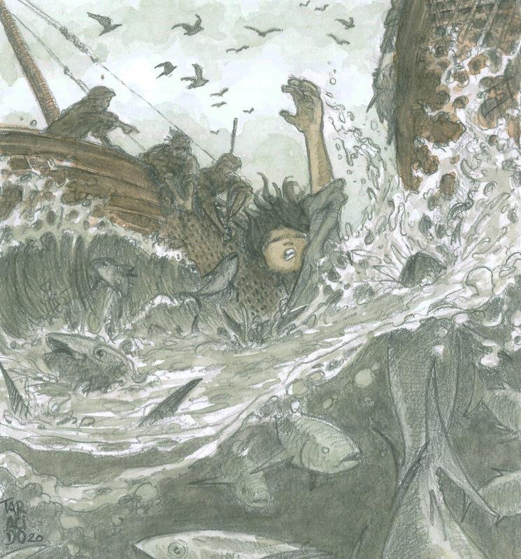 Ilustración de Alberto Taracido para Carrión.