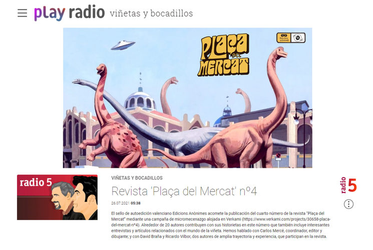 ¡Podéis escucharnos en la radio!