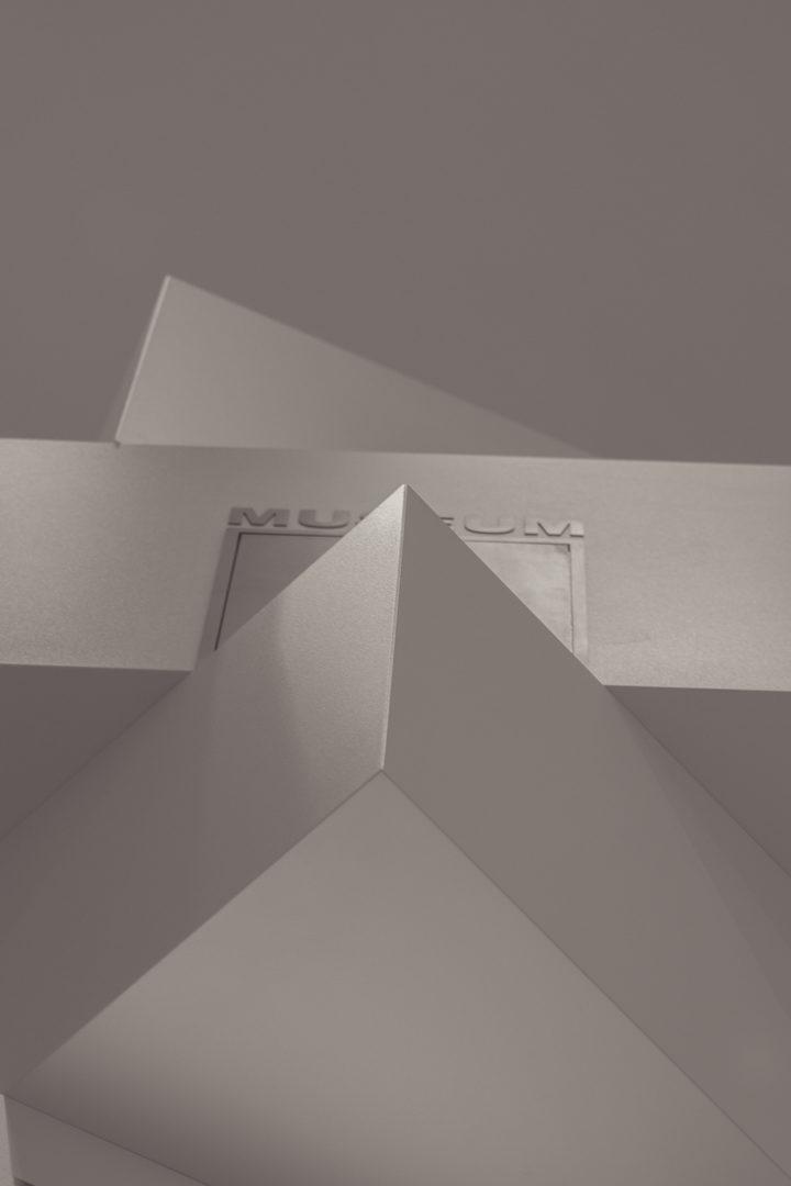 Arquitectura en el museo Helga de Alvear, Cáceres (Obra de Elmgreen  y Dragset)