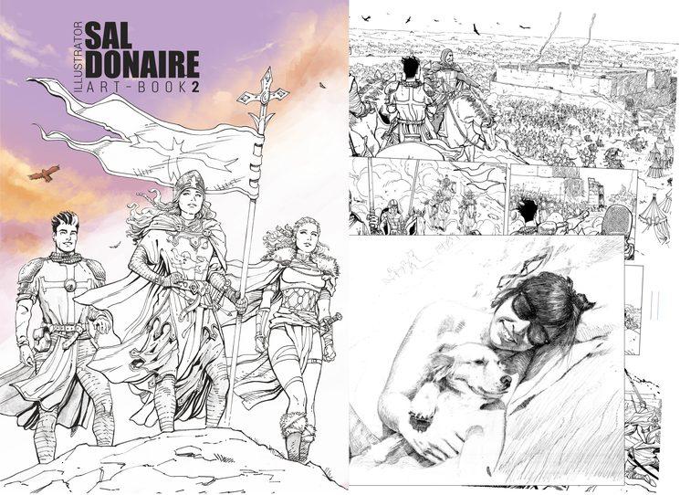 Objetivo 3º - Art Book de Sal Donaire