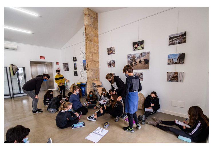 Actividades de reflexión y concienciación de From Inside junto a alumnos del CEIP Durán Estrany, Mallorca 2020.  2020.