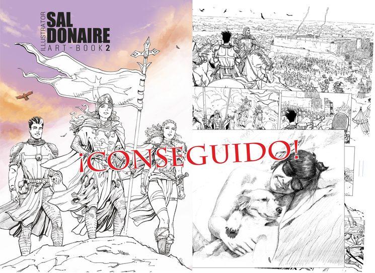 Objetivo 3º: Art Book de Sal Donaire ¡Conseguido!!!