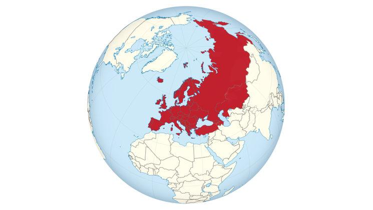 Países europeos y euroasiáticos
