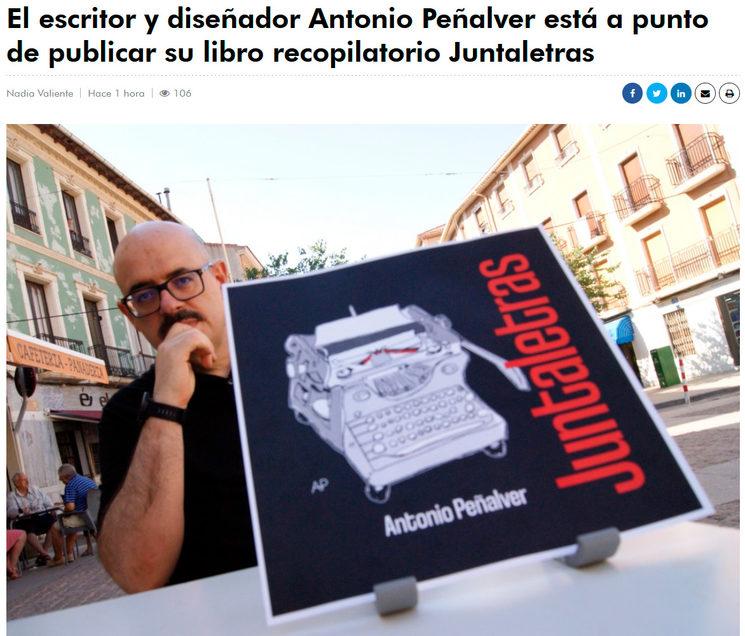 Entrevista a Antonio Peñalver para promocionar