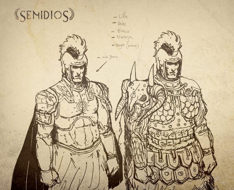 Diseños para armaduras avanzadas