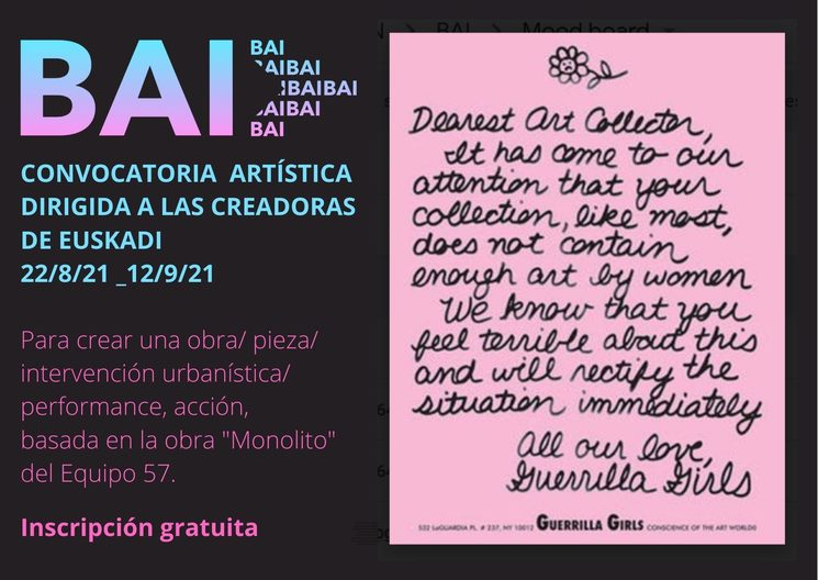 Open call con basque artists