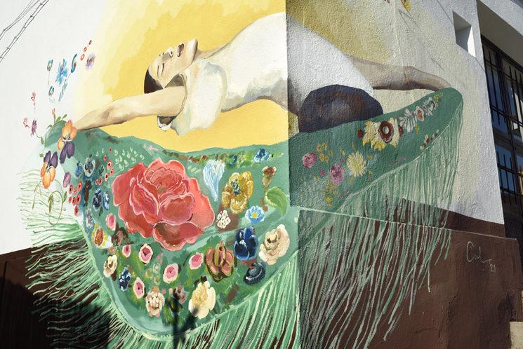 Pintura mural en espacio público