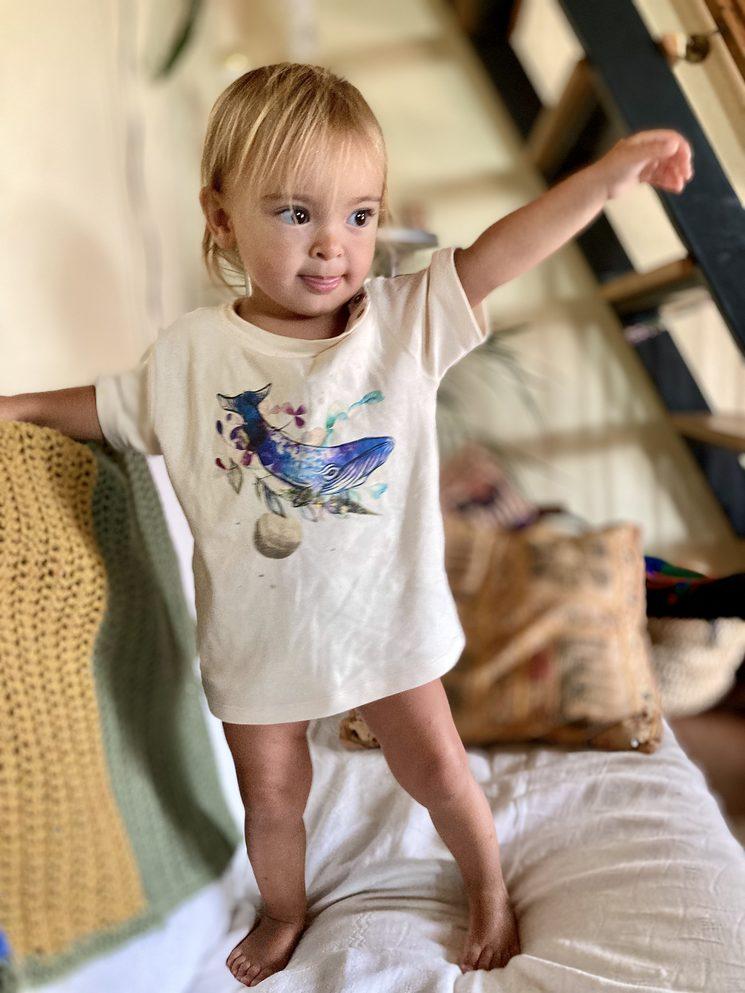 Camiseta infantil de bebé