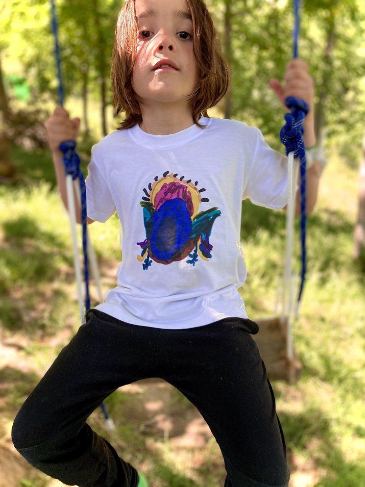 Camiseta infantil de niño