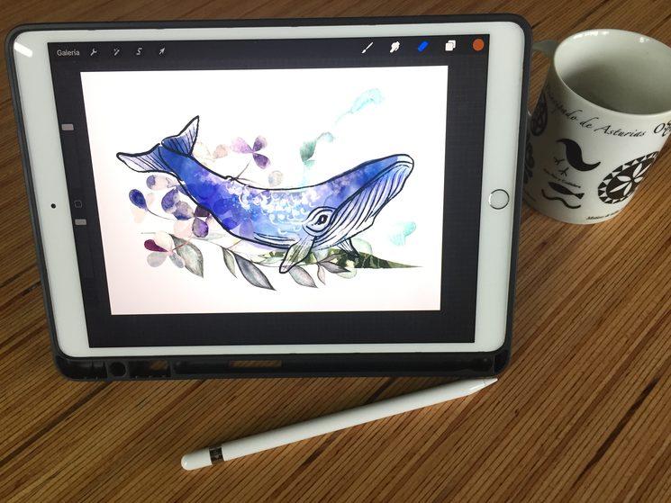 Diseñando con tableta gráfica