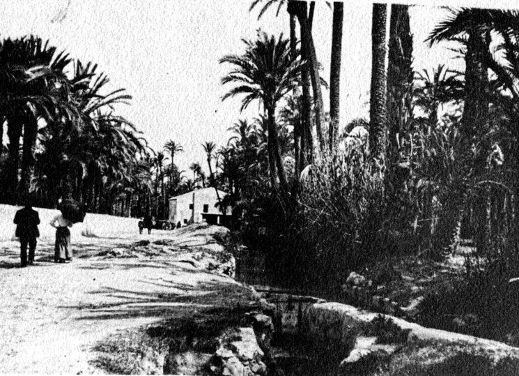 Calle Curtidores, barrio donde vivía Ramón y su familia