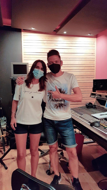 IKER (PRODUCTOR MUSICAL) con María Vasán