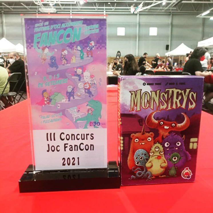 Monstrys premiado en la Feria Fancom Barcelona 2021