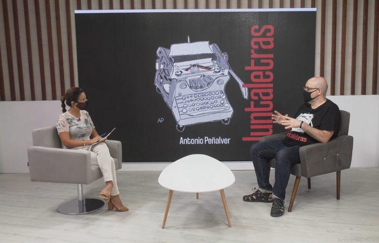 Antonio Peñalver habla de Juntaletras en Tele Elda