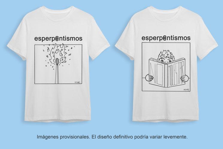Las dos camisetas de la campaña