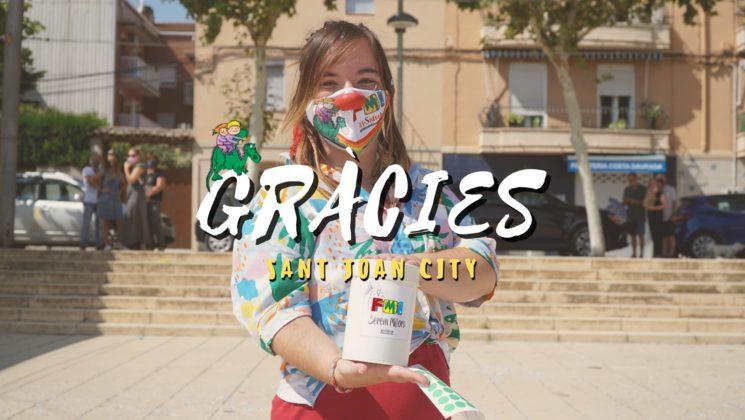 Gràcies, Sant Joan City! Foto de @lensmoonfilms