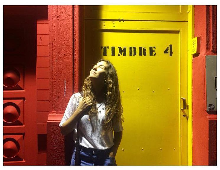 Anna Gonzalvo a Timbre4. Buenos Aires.