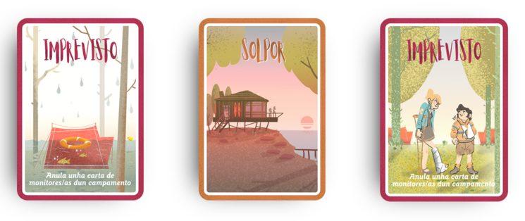 exemplos de cartas de ataque ou que afectan ao xogo