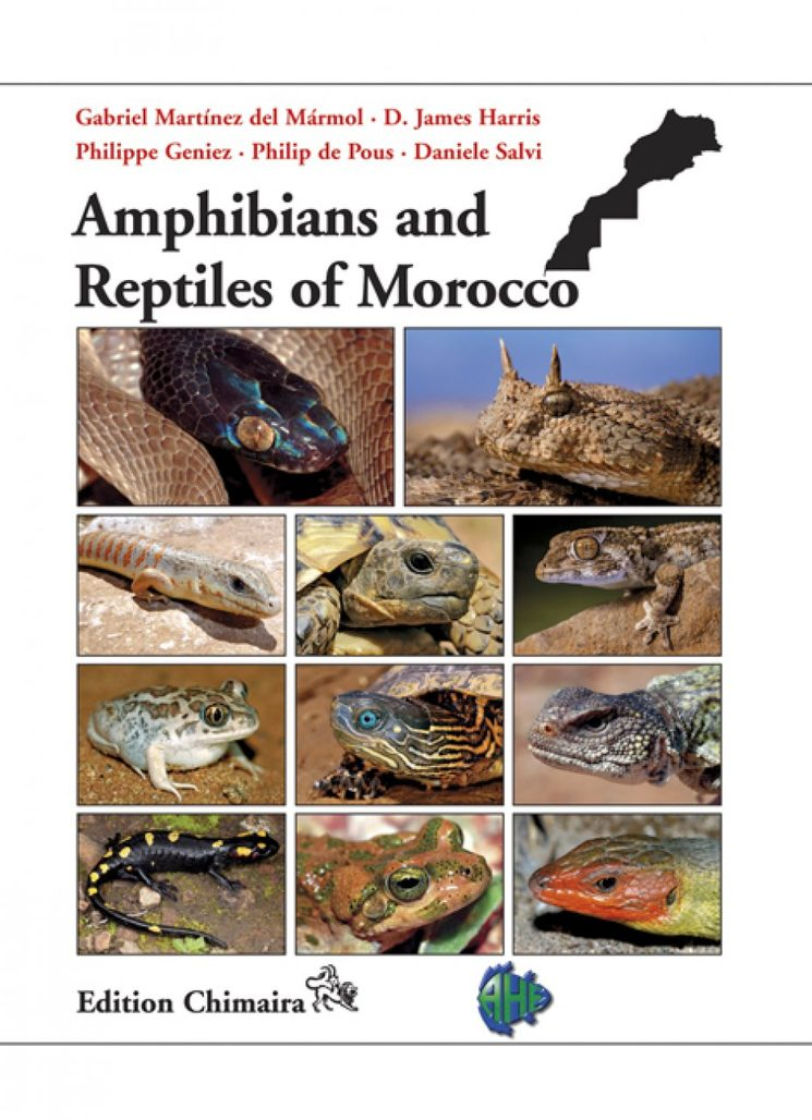 Amphibians and Reptiles of Morocco Book