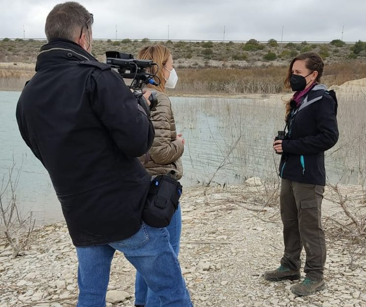 Shooting of a report to Faunatura by the co-workers of À Punt.
