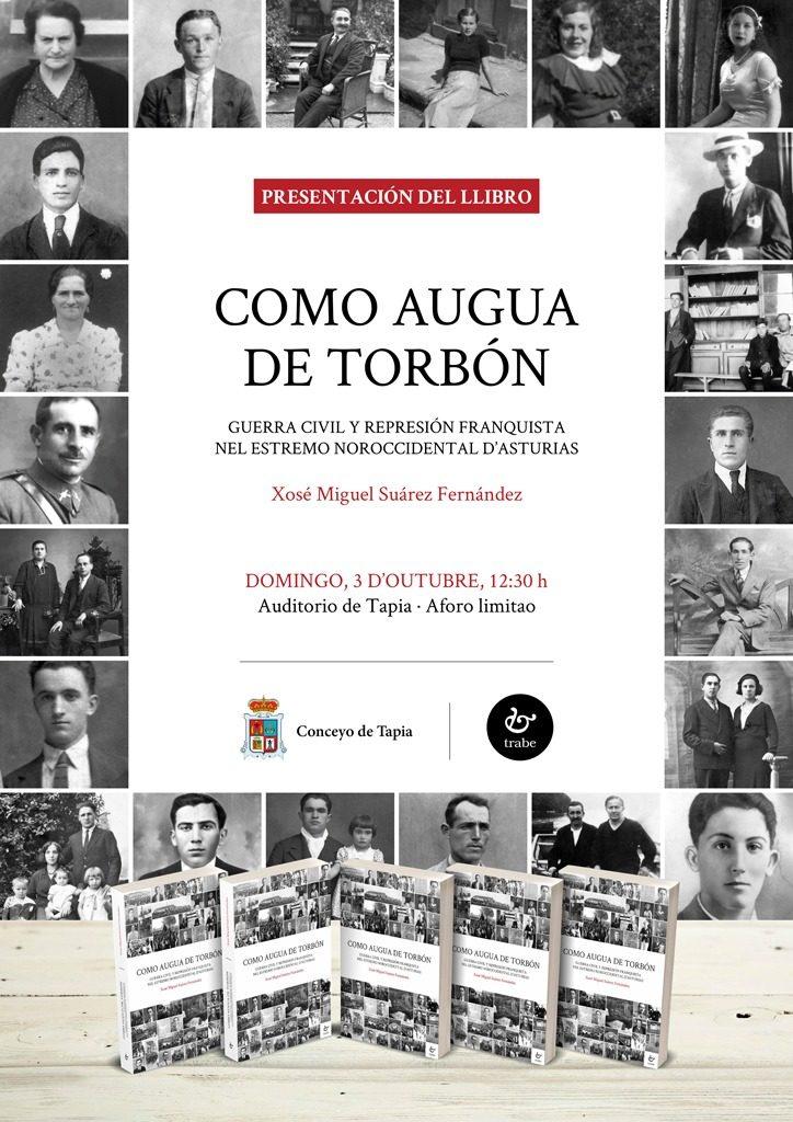 Cartel da presentación en Tapia