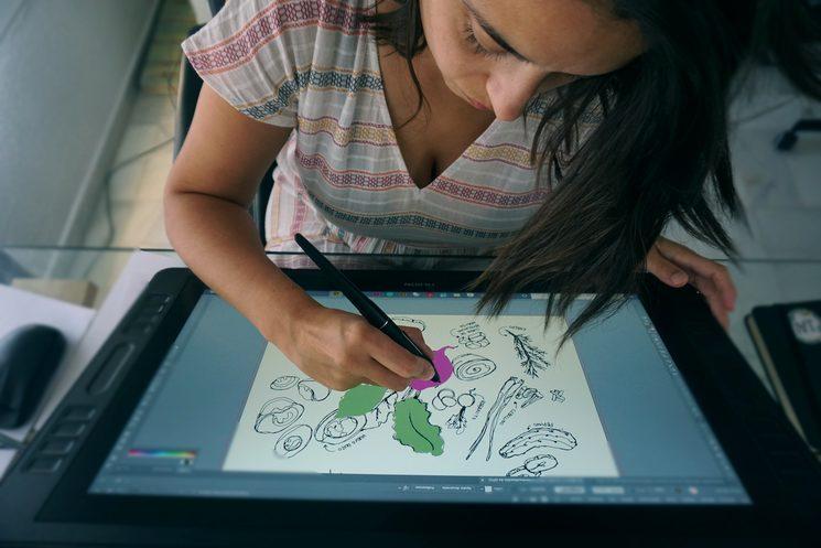 Anna Girona diseñando ¡La cocina es nuestra!