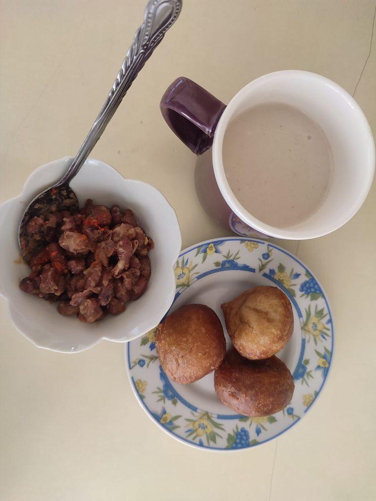 Desayuno típico de Camerún
