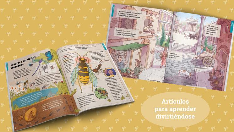 Ejemplos de los artículos (edición en catalán)