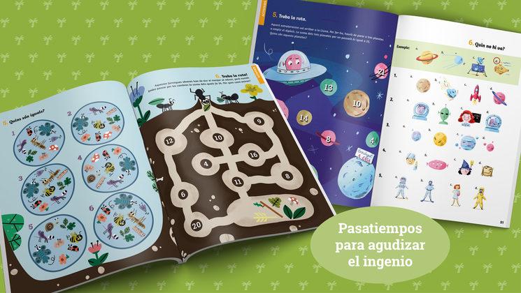 Ejemplos de pasatiempos (edición en catalán)