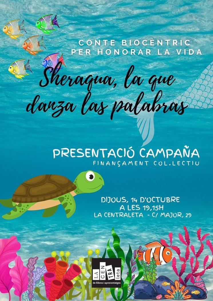 Cartel presentación La Centraleta