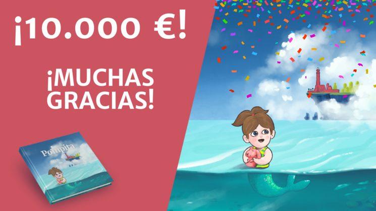 ¡10.000€ CONSEGUIDOS!