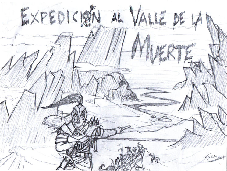 Avanzando por el Valle de la Muerte, by Terrax