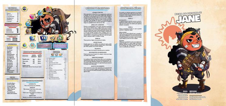 Ficha de personaje Jane