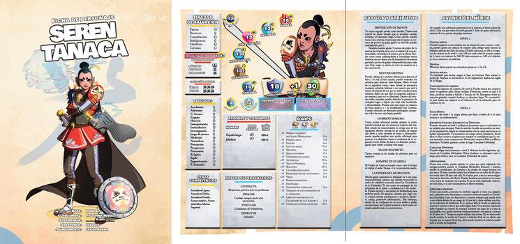 Ficha de personaje Seren