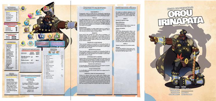 Ficha de personaje Orou
