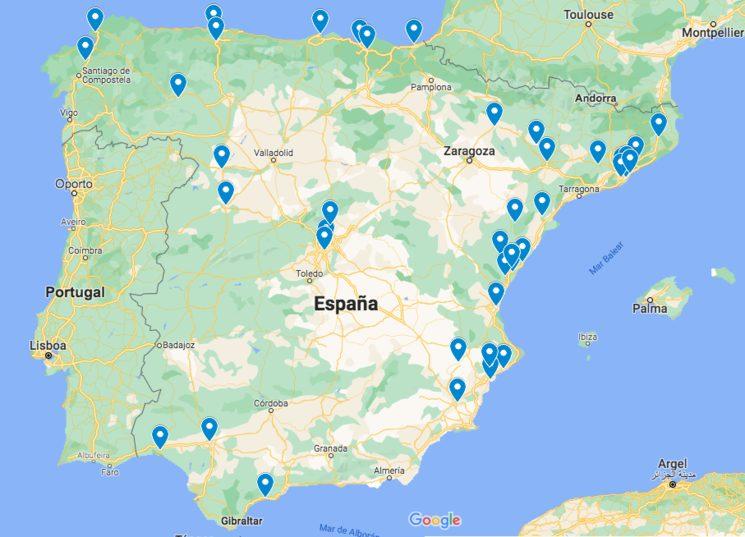 Más de 40 destinos diferentes para nuestra novela
